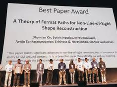 CVPR 2019最佳论文得主专访:非视距形状重建的费马路径理论