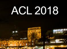 计算语言顶会ACL 2018最佳论文公布!这些大学与研究员榜上有名