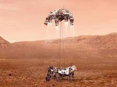 27亿美元的NASA「毅力号」成功登陆火星!还带了一架1%大气密度也能飞的无人机