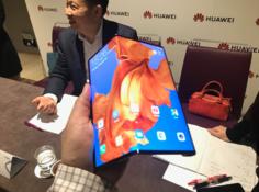 华为发布首款 5G 折叠屏手机 Mate X:售价 1 万 7