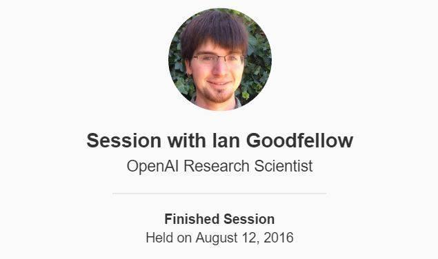 Ian Goodfellow的Quora问答:高歌猛进的机器学习人生