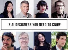 人类的想象力与机器智能如何组合?这8位顶级AI设计师正在实践
