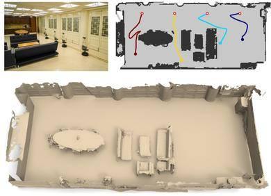 SIGGRAPH | 多机器人协同三维场景重建