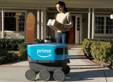「守、攻、抢」配送机器人市场的「神仙打架」