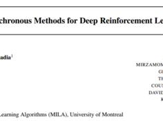 「人工智能研学社· 强化学习组」第三期: 效率强者 - 异步方法