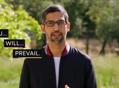 谷歌CEO皮查伊「美国版后浪演讲」:You Will Prevail,你们终将胜利