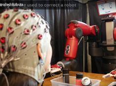 MIT研发出脑控机器人:可使用脑波为机器人纠错