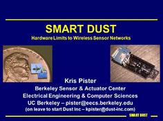 智能尘(Smart Dust):万有互联的下一步
