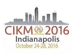 CIKM 2016:大数据科学的前沿与应用
