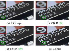 CVPR 2018 Poster论文:处理多种退化类型的卷积超分辨率