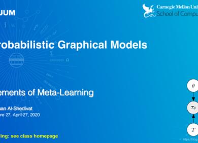 卡耐基梅隆大学(CMU)元学习和元强化学习课程   Elements of Meta-Learning