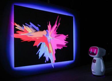 百度联手UCCA Lab、Moment Factory打造AI沉浸互动展中国首秀