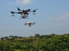 大疆农业无人机AI「果树」模式首次公开作业:开启全自动时代