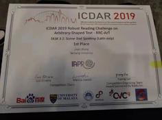 斩获鲁棒性阅读大赛两项冠军,ICDAR 2019冠军解决方案将开源