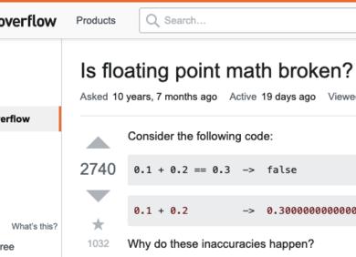 为什么0.1+0.2不等于0.3?原来编程语言是这么算的……