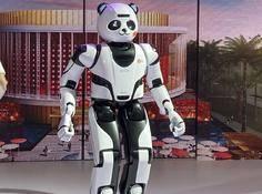 写字、画画、打太极,机器人版「功夫熊猫」诞生,国宝出征迪拜世博会