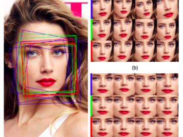 旷视科技提出GridFace:通过学习局部单应变换实现人脸校正