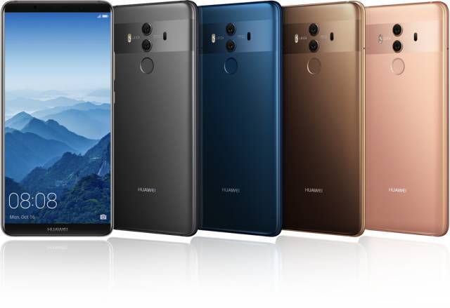 起售价3899元,华为Mate 10系列AI手机国内正式发布