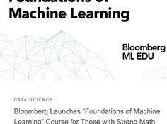 Bloomberg推出在线免费课程:《机器学习基础》