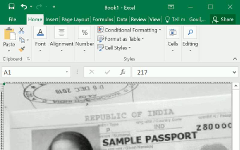 Excel狂魔?单位格做盘算机视觉:人脸检测、OCR都不话下