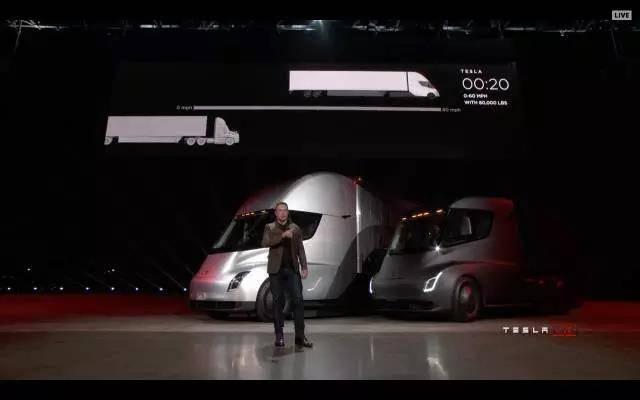关于一小时前惊艳亮相的Tesla Semi卡车,你需要知道得更多
