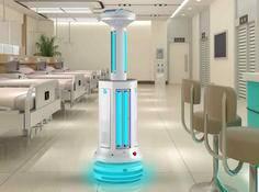 疫情当前,消毒、配送、巡检、送餐……机器人在行动