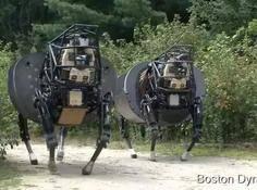 一镜到底,看看波士顿动力的机器人家族到底有多「变态」
