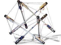 OpenAI与NASA论文:用于张拉整体机器人运动的深度强化学习