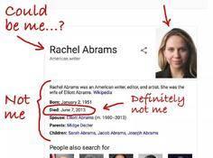 谷歌认为我死了!