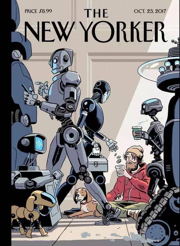 纽约客封面故事:欢迎来到「黑暗工厂」,这里是由机器统治的世界