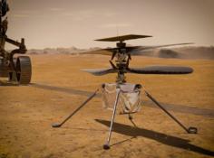 3米高度悬停30秒,火星无人机「机智号」首飞成功,1.2万人贡献开源代码