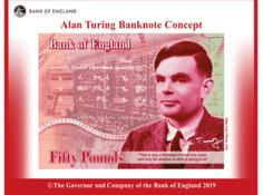 迟到的认可:计算机科学之父图灵将登50英镑新钞