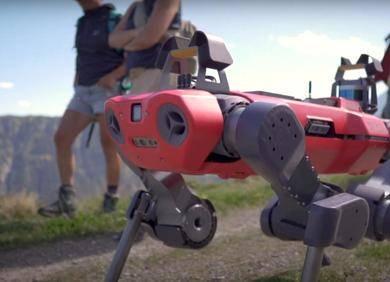 不用摄像头和激光雷达,四足机器人「凭感觉」越野:ANYmal登上Science子刊封面